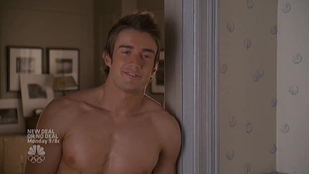 "Robert Buckley as Kirby Atwood shirtless in Lipstick Jungle 1×06 ""Chapter Six: Take the High Road"""