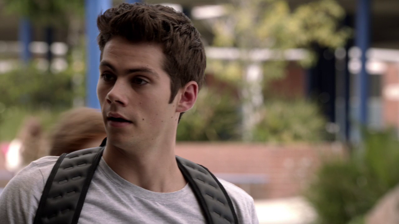 "Dylan O'Brien as Stiles Stilinski in Teen Wolf 3×15 ""Galvanize"""