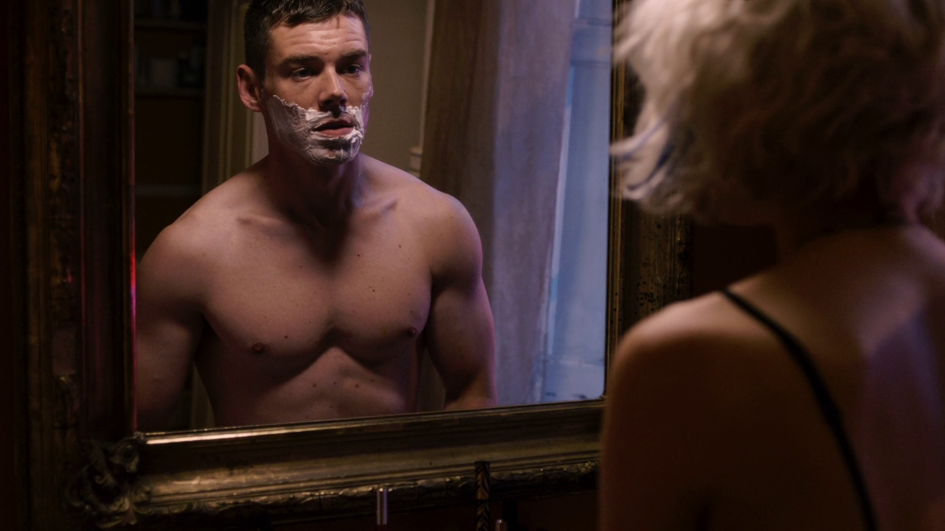 "Brian J. Smith as Will Gorski shirtless in Sense8 1×02 ""I Am Also A We"""