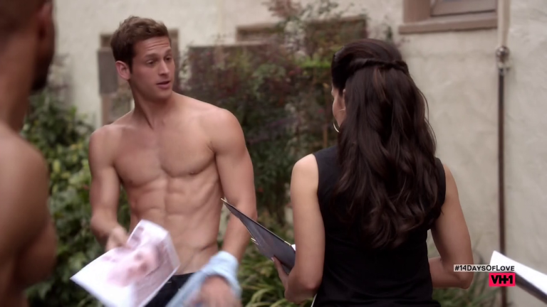 """Max Emerson as Max shirtless in Hit The Floor 3×04 """"Good D"""""""