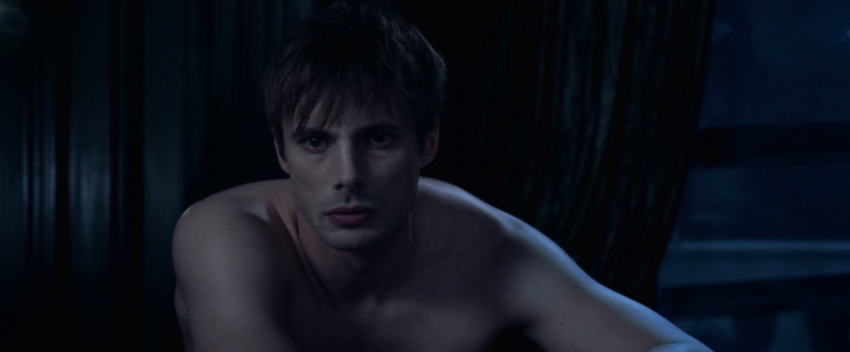 Bradley James as Varga shirtless in Underworld: Blood Wars