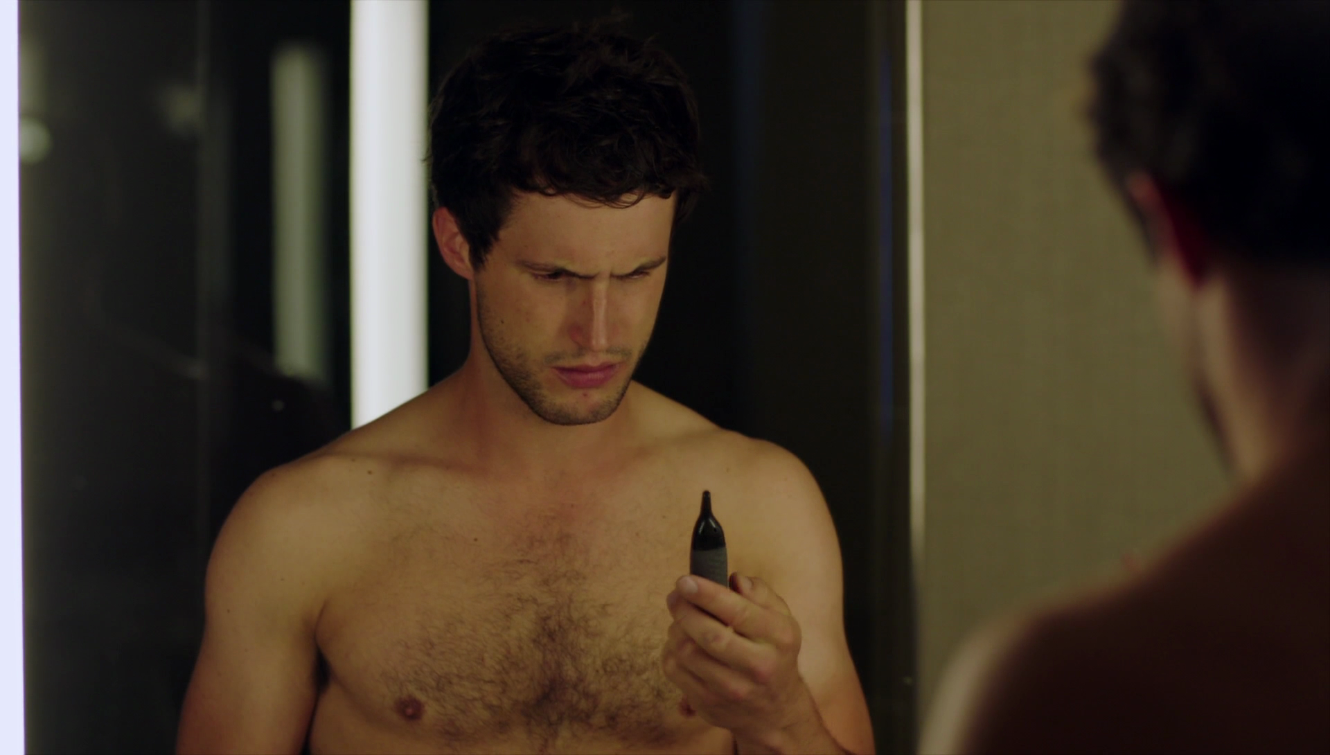 rob heaps as ezra bloom and parker young as richard