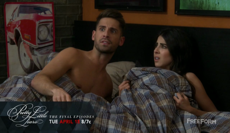 "Jean-Luc Bilodeau as Benjamin Bon Jovi ""Ben"" Wheeler shirtless in Baby Daddy 5×05 ""When Elle Freezes Over"""