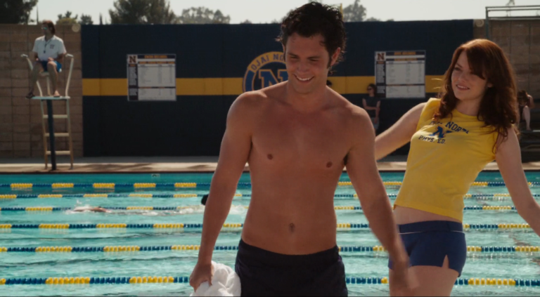 "Penn Badgley as ""Woodchuck"" Todd shirtless in Easy A"