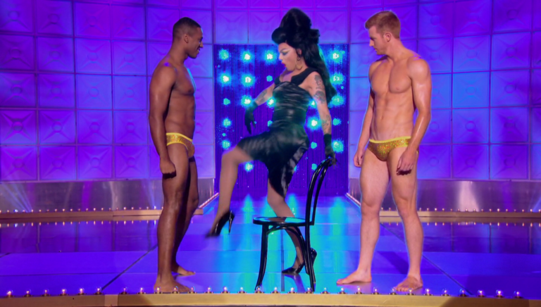 "RuPaul's Drag Race All Stars Season 3 Pit Crew shirtless in 3×02 ""Divas Lip Sync Live"""
