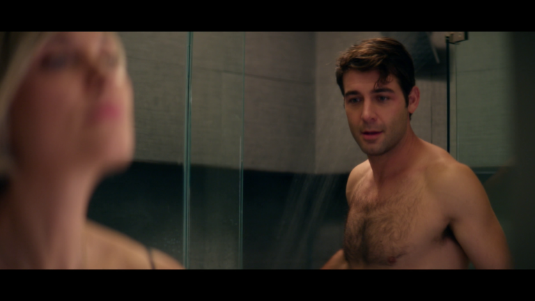 "James Wolk as Jordan Evans shirtless/naked in Tell Me a Story 1×01 ""Chapter 1: Hope"""
